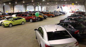 Everyone looks forward to the Indoor Car Show in January. Hosted by Mountain View Dodge, Hildebrand Motors, and Cam Clark Ford.