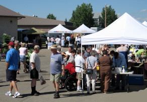 Everybody loves a great Farmers Market and Olds is definitely the place to go.