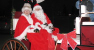 Community - Among many other community events, ORE is very active in the Santa Claus Parade of Lights during Olds Fashioned Christmas each November.