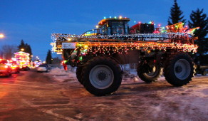 ORE hosts the Santa Claus Parade of Lights during Olds Fashioned Christmas each November.