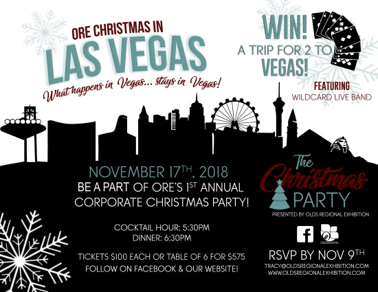 Come to our Corporate Christmas Party, November 17th.